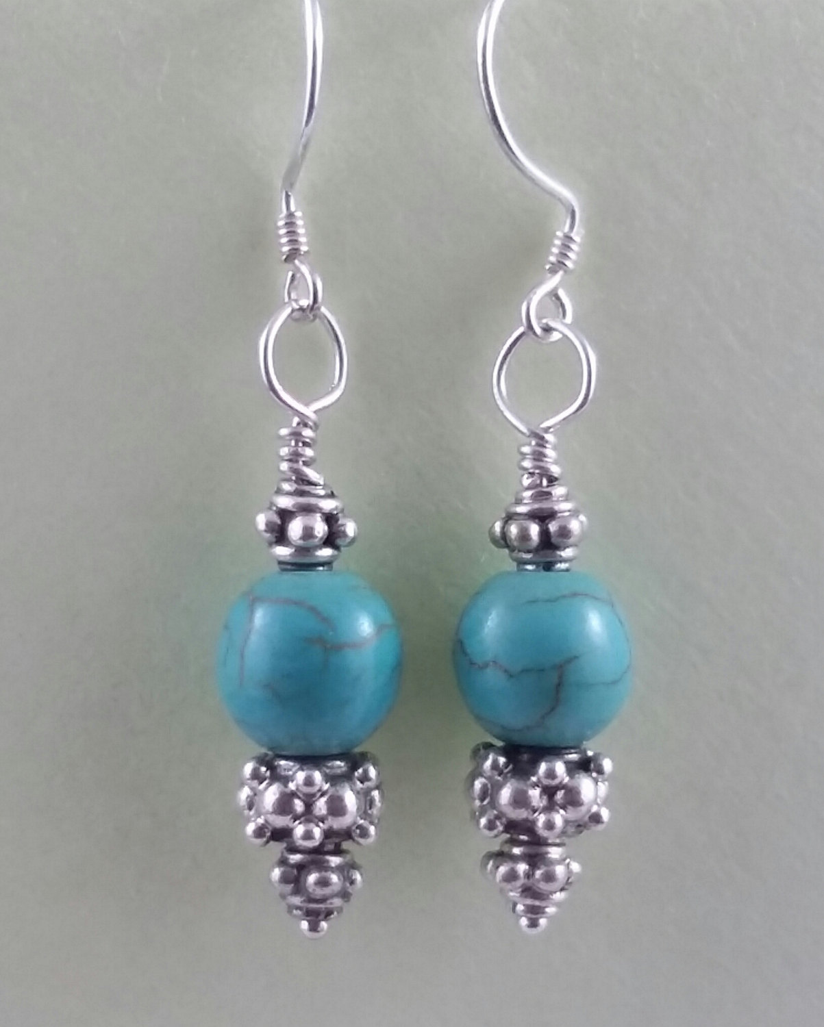 turquoise earrings products cattle woman western jasper kate handcrafted accessories