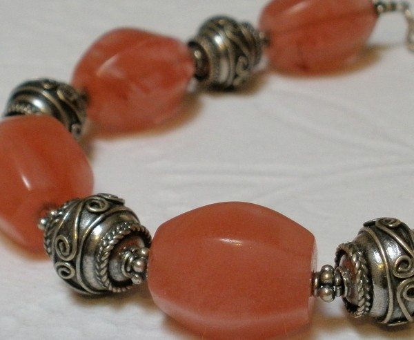 Chunky Cherry Quartz Semi Precious Gemstone Decorative ...
