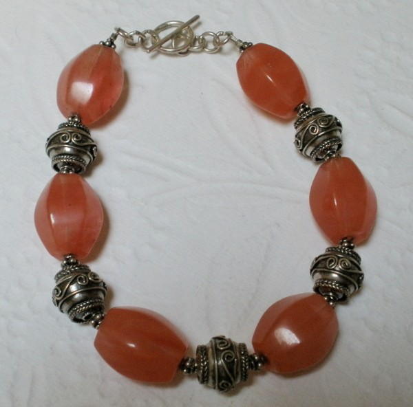 Ideal Chunky Cherry Quartz Semi Precious Gemstone Decorative Bali  SS03